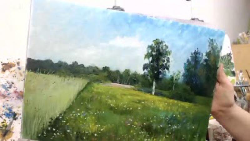 Секреты Исаака Левитана - бесплатный онлайн МК по живописи маслом