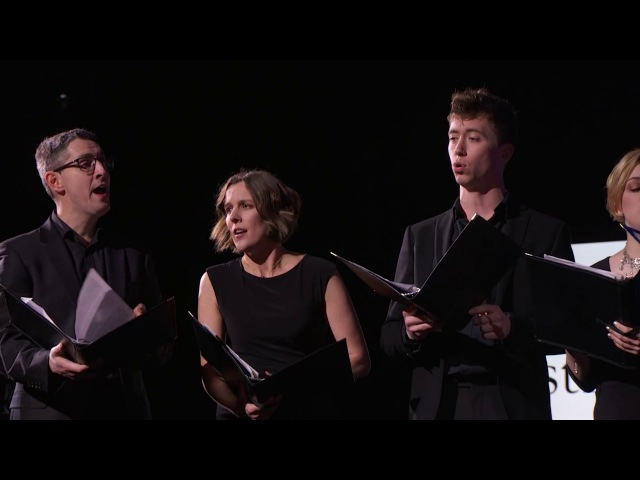"Stile Antico performing ""Ave Maria"" and ""Gaudete in Domino"" 
