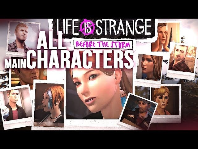 ❖ All [Lis: before the storm] main characters (all episodes)