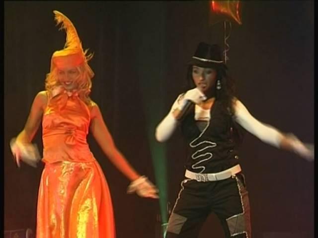 Концерт шоу-группыБРЫЗГИ БАЛТИКИ в ККЗ РОССИЯ февраль 2006 год, часть 3