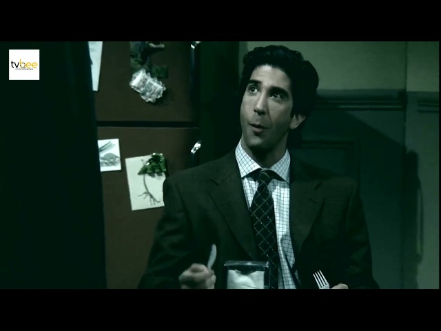 Friends Ross Geller without laugh track = psychopath