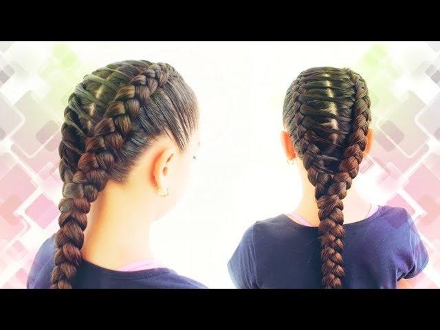 Trenza en puente | Peinado fácil