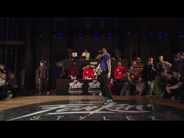 Snipes Funkin' Stylez Spain 2017 | Locking Final | Arvidos Above the Clouds vs Iron Dan | Danceproject.info