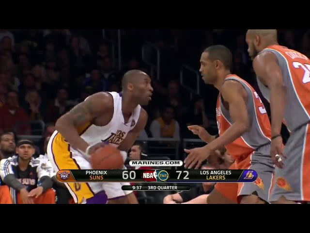 Kobe Bryant Destroys Steve Nash, Vince Carter, Grant Hill 42 pts, 12 rbs, 9 asts!