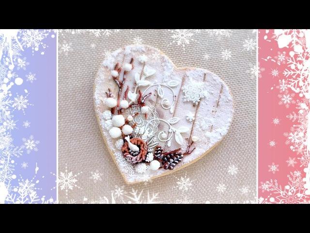 Winter Fairy Tale Cookie Card
