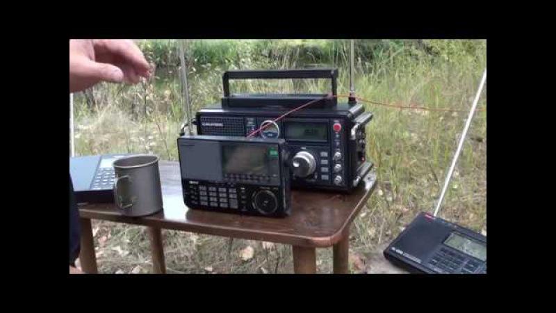 Сравнительный тест радиоприёмников. Grundig s-750, Sangean 909, Tecsun 880/600.