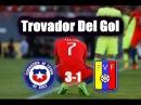 (Relato Emocionante) Chile 3-1 Venezuela 2017 | Alberto Jesus Lopez HD Mega