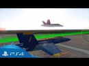 Blue Angels Aerobatic Flight Simulator   Presentation Trailer   PS4