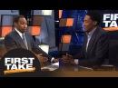 2 часть: Stephen A. and Scottie Pippen intensely debate LeBron James vs. Michael Jordan | First Take | ESPN