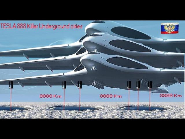 Top Killer ELITE in Underground towns Tesla Secret (NEW) Nuclear Rockets Russian Serbian army 2018