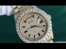 Rolex Day Date II President 41mm Yelow Gold 33 Carat Custom Diamonds