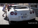 Mareike Fox driving her Prior Design PD750 Nissan GTR R35