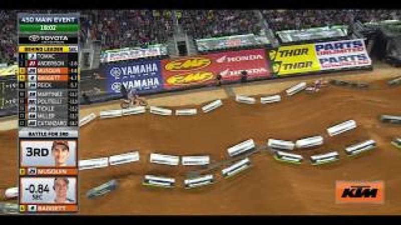 450 Main Event Monster Energy AMA Supercross Arlington 2018