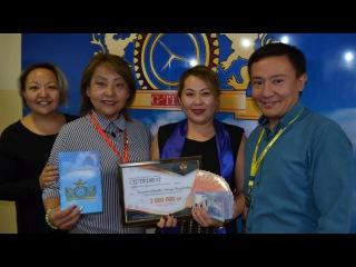 G-TIME CORPORATION 07.10.2017 г. Вручение 3 000 000 тенге партнеру из Костаная