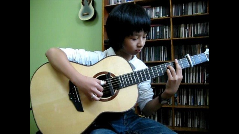 (Gary Moore) Parisienne_Walkways - Sungha Jung