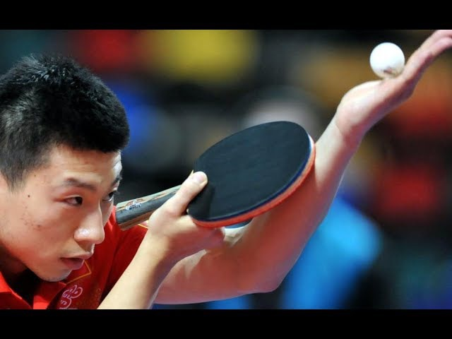Ma Long vs Yu Ziyang (Chinese Super League 2017/2018)