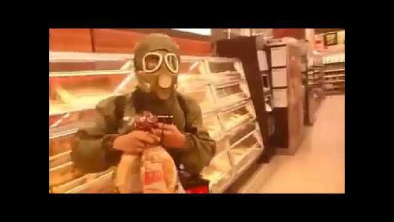 Vixa w biedronce i wypad ze sklepu (Slav Shopping full video) [REUPLOAD]