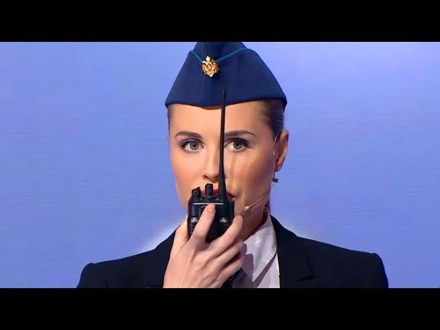 Муж и жена в самолете - Икра престолов - Уральские Пельмени (2017)