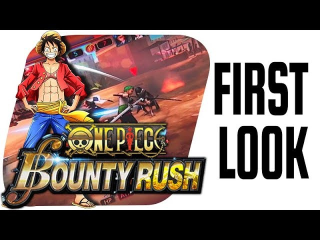 One Piece: Bounty Rush - Mobile Game FIRST LOOK!