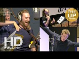 Tom Hiddleston, Eddie Redmayne, Maisie Williams recording Early Man voices behind the scenes