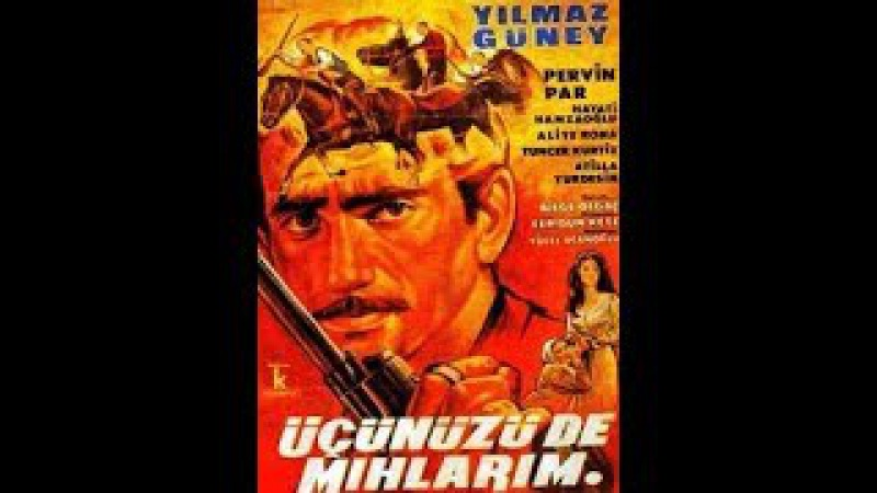 Üçünüzü De Mıhlarım (1965) Yılmaz Güney, Pervin Par, Hayati Hamzaoğlu, Tuncel Kurtiz, Aliye Rona
