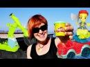 Видео для детей. Веселая школа с Машей и Машинками