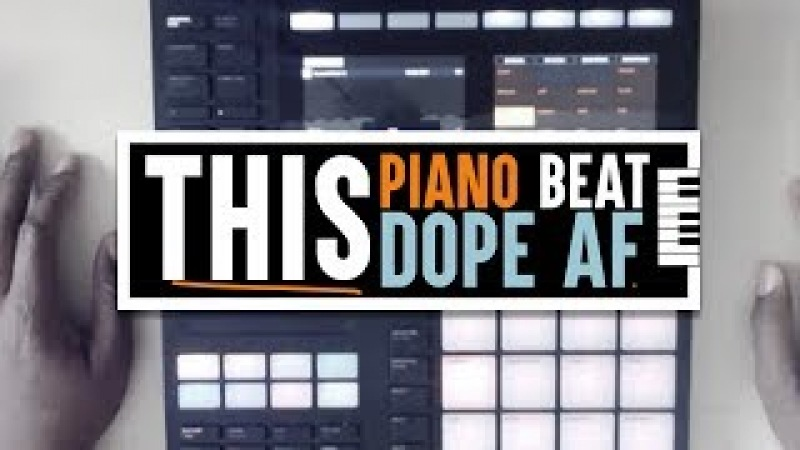 Making A Dope Piano Beat On Maschine Mk3 - Sample Pack Review