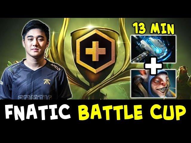BEST Meepo Abed Meteor Hammer — Fnatic in Dota PLUS Battle Cup