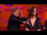 F o r c e i s c a l l i n g. on Instagram Mark Hamill uses the Force at Graham Norton Show