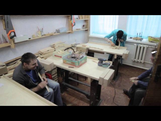 Проект №5. Мастерские для детей-инвалидов «Надежда» (г. Иркутск) Видео 1
