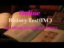 Online History (INC) Test/model Paper for UPPSC RO/ARO Exam 2018-2019 By awill guru