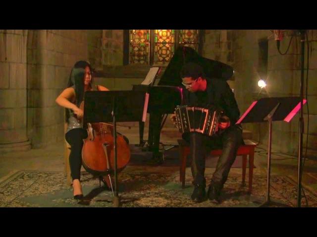 Astor Piazzolla - Libertango (Wendy Law, cello JP Jofre, Bandoneon)