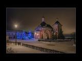 Рождество Христово, 7 января 2018 года, Оптина Пустынь, Ночное богослужение