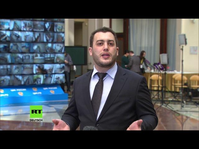 Präsidentschaftswahlen in Russland: Bericht aus der Zentralen Wahlkommission