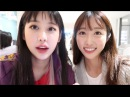 VLOG 45 Co Co 코코 Mukbang with 'Unpretty Rapstar' Yuk Jidam Dior Cafe Unboxing