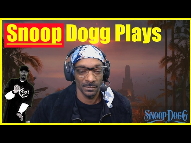 Snoop Dogg Plays SOS on TWITCH | Snoop Dogg Streams on TWITCH! | Full Game of SOS!
