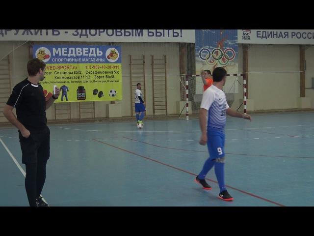 Урарту 0:2 Цифроград 1/2 Чемпионат РОЛФЛ 5x5 6.1.2018 10:00