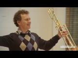 Vienna Philharmonic Trombone Master Class with Dietmar K