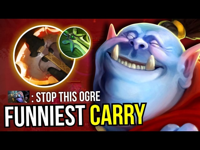 CARRY OGRE MAGI - Butterfly Battlefury Ogre Magi NEW META 7.07 Dota 2 | Upside Down 33