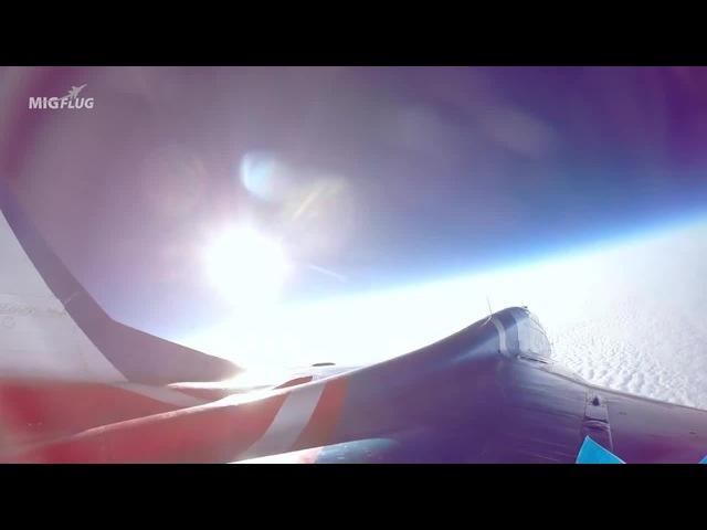 MiG-29 High Altitude Stratosphere Flight-camera HD