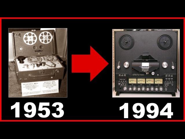 Почти ВСЕ катушечные магнитофоны СССР (1953-1994)