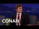 Evan Peters Accidentally Showed Jessica Lange His Junk CONAN on TBS