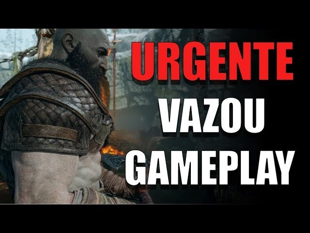 VAZOU UM GAMEPLAY DE 10 MINUTOS DO NOVO GOD OF WAR !!
