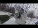 Sniper AirSoft Russia Зимний снайпинг,Небольшая тренировка Amoeba Striker