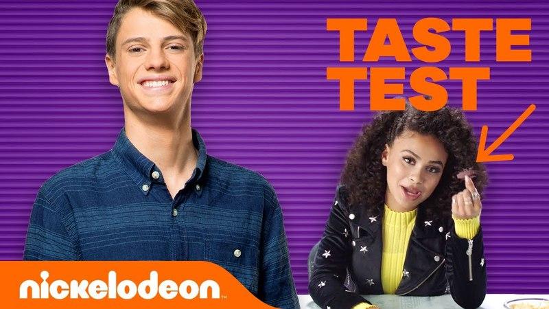 Jace Norman's April Fools Taste Test w/ Jojo Siwa, Lizzy Greene, Daniella Perkins More l Nick