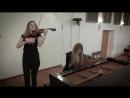 Гражданская оборона - Моя оборона кавер на пианино-скрипке