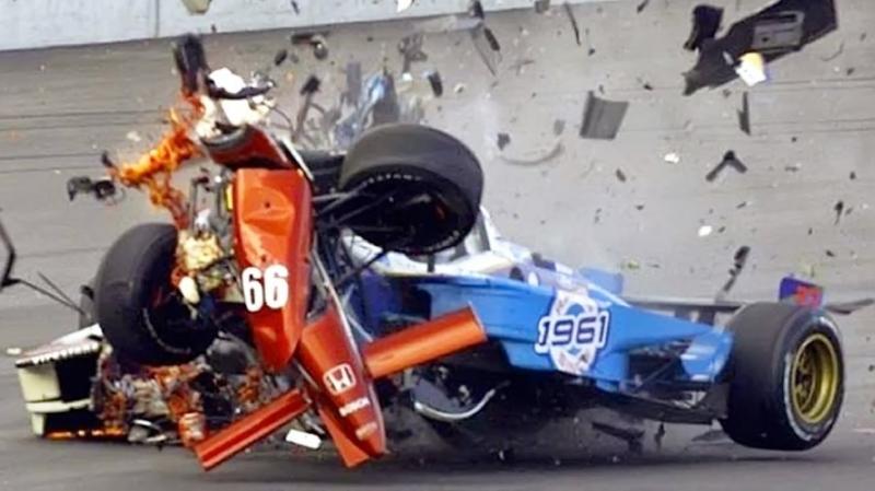 Топ 10 Страшных аварий на Гонках