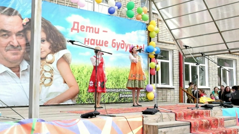 2016г. Тученьки  Александра Туралина и Алина Иванова
