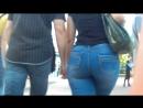 Beautiful big ass in jeans milfs 5 (Мамочка с красивой задницой в джинсах)