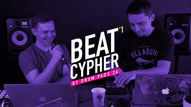Beat Cypher - Midi Fighter Vs Irig Pads - Beats at the Drum Pads 24 Studio